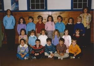 Josh 1st grade class